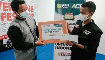 Global Zakat-ACT Bangka Berikan Bantuan Biaya Hidup dan Paket Pangan untuk Puluhan Guru Honorer di Bangka