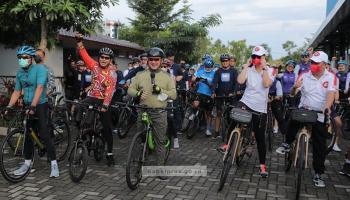 Gowes Belitung, Gubernur: Udaranya Segar Membuat Bugar