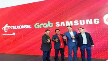 Grab Gandeng Samsung, Telkomsel, dan Erafone Luncurkan Program Ponsel Cerdas