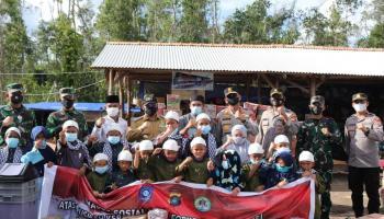 Gubernur Ajak Semua Pihak Untuk Bangun Kembali Ponpes Tahfidz Guntur yang Terbakar