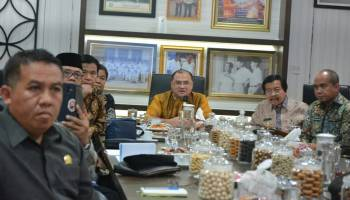 Gubernur Babel Awali Rakor Bersama Bupati dan Walikota Dengan Membahas RZWP3K