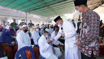 Gubernur Babel Bantu Perluasan Masjid Sirotul Mustaqim Bukit Layang
