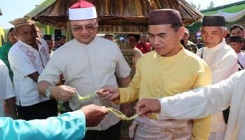 Gubernur Babel Dukung Penuh Pesta Adat Suku Ketapik Desa Kacung