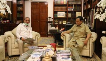 Gubernur Babel Malam-Malam Menghadap Menhan RI Prabowo, Ada Apa?
