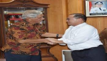 Gubernur Babel Pengen YPAC Pangkalpinang Punya Gedung Reprensentatif