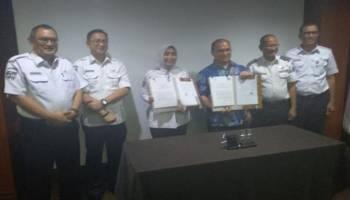 Gubernur Babel Teken MoU Pengelolaan Kapal Roro Mini, Wisata Lima Pulau Bisa Terlayani