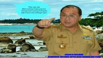 Gubernur Babel Ucapkan Selamat Berlebaran, Tapi Jangan Lupa Jaga Kebersihan Lingkungan