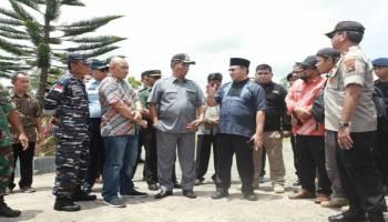 Gubernur Cek Tanah Hibah Dari Pemkab Beltim, 30 Hektar Untuk Kampus Pariwisata UBB