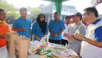 Gubernur Cicipi Hasil Produk UKM SMKN 4 Pangkal Pinang