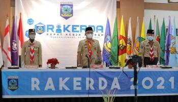 Gubernur Dorong Satu Desa Satu Pembina Pramuka Segara Diwujudkan