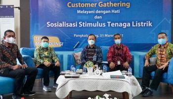 Gubernur Dukung Program Stimulus Listrik Triwulan II 2021