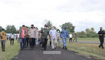 Gubernur Erzaldi Antar Kepulangan Rombongan Gubernur Lampung