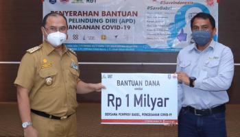 Gubernur Erzaldi Apresiasi Bantuan PT RBT Untuk Memutus Rantai Penyebaran Covid-19