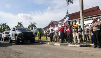 Gubernur Erzaldi Apresiasi Komunitas Pajero Indonesia Promosikan Pariwisata Bangka