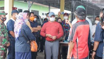 Gubernur Erzaldi Apresiasi Pemkab Beltim Atas Percepatan Proses Vaksinasi Covid-19