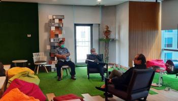 Gubernur Erzaldi Audiensi dengan Founder & Chairman MarkPlus Inc