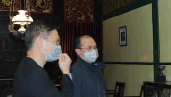 Gubernur Erzaldi Bahas Kerja Sama Dengan MNC Pictures