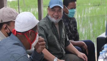 Gubernur Erzaldi Berikan Dua Alternatif Rekomendasi Atasi Masalah Irigasi Sawah Desa Kepoh