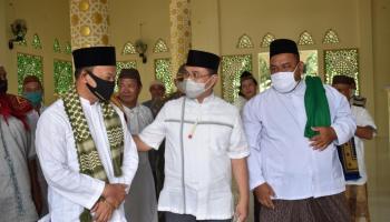 Gubernur Erzaldi Berkunjung ke Majelis Zikir dan Taklim Mahajur Ridho