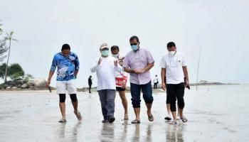 Gubernur Erzaldi Bersama Kementerian Perhubungan Tinjau Rencana Pengembangan Pelabuhan Pangkalbalam