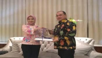 Gubernur Erzaldi Bertemu Dirut Pertamina Bicarakan Rencana Pembangunan PLTG