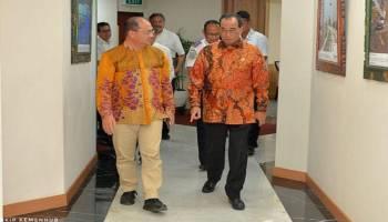 Gubernur Erzaldi Bertemu Menteri Perhubungan Bicarakan Rencana Pembangunan Pelabuhan Tanjung Ular