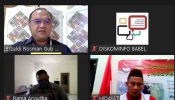 Gubernur Erzaldi Buka Sosialisasi Bela Negara di Lingkungan Kerja