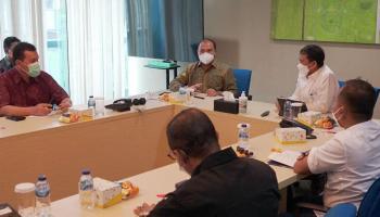 Gubernur Erzaldi dan PT Pertamina Patra Niaga Bahas Kelanjutan Program LPG Bersubsidi