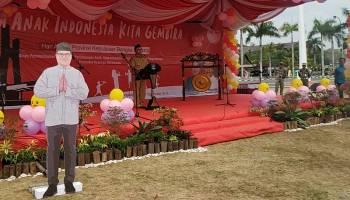 Gubernur Erzaldi Dapat Kado Indah di Peringatan Hari Anak