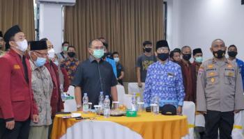 Gubernur Erzaldi Hadiri Pelantikan DPD Ikatan Mahasiswa Muhammadiyah Babel