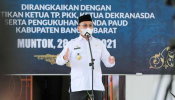 Gubernur Erzaldi Harap Bangka Barat Makin Maju dan Berkembang