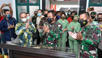 Gubernur Erzaldi Harap TNI Semakin Profesional dan Dicintai Masyarakat