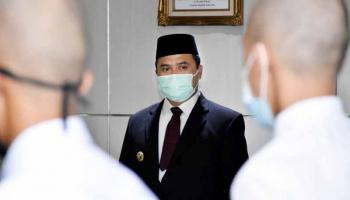 Gubernur Erzaldi Imbau Jaga Nama Baik Daerah Saat Melepas Capra IPDN