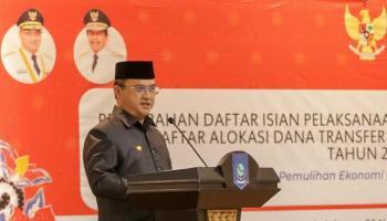 Gubernur Erzaldi Imbau Satker Babel Tingkatkan Kualitas Belanja 2021