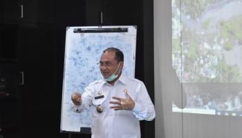 Gubernur Erzaldi Kembali Pimpin Rapat Pemanfaatan Kolong Kace