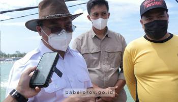 Gubernur Erzaldi : Kita Bisa Jadi Pengekspor Udang Terbesar