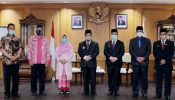 Gubernur Erzaldi Kukuhkan Sahirman Sebagai Pejabat Sementara Bupati Bangka Barat