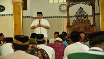 Gubernur Erzaldi Kunjungi Pesantren Di Belitung, Tahun 2021 Pemprov Bantu Bangun Ruang Belajar