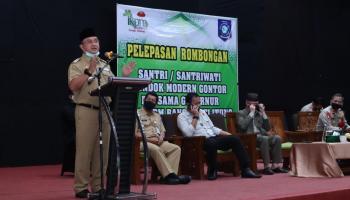 Gubernur Erzaldi Melepas 127 Calon Pemimpin Masa Depan Asal Bangka Belitung