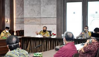 Gubernur Erzaldi Minta Pemuka Agama Laporkan Data Umat Yang Terdampak Covid-19