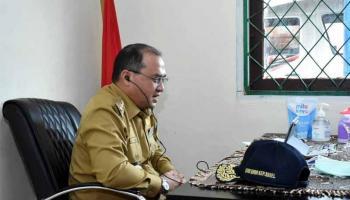 Gubernur Erzaldi Paparkan Strategi Pemulihan Ekonomi Babel di Era New Normal