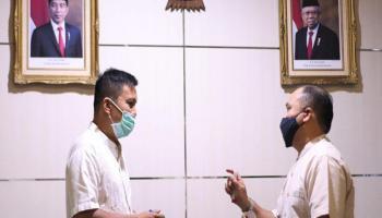 Gubernur Erzaldi Pimpin Rapat Sosialisasi Penerapan Protokol Covid-19