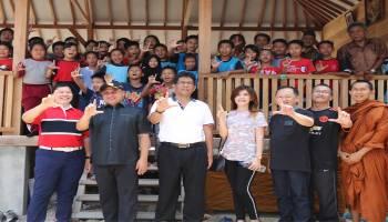 Gubernur Erzaldi Resmikan Sekolah Alam Balai Kemuliaan Gagasan Bangka Alam Lestari