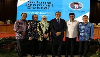 Gubernur Erzaldi Rosman Beri Semangat dan Dukungan Pada Menteri Kelautan dan Perikanan