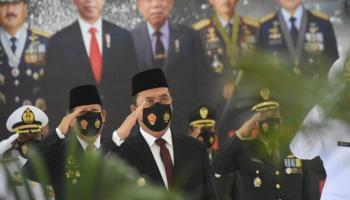 Gubernur Erzaldi Rosman Ikut Semarakkan HUT ke-75 TNI
