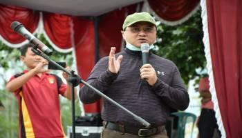 Gubernur Erzaldi Rosman Tanam Mangrove dan Edukasi Cegah Covid-19 Kepada Masyarakat Belo Laut