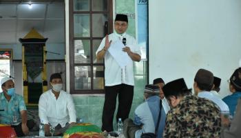 Gubernur Erzaldi Sambut Baik Rehabilitasi Masjid Baitul Rahman Desa Teru