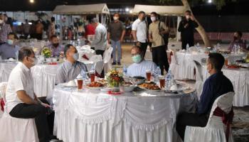 Gubernur Erzaldi Sambut Kedatangan KASAU Dengan Jamuan Makan Malam