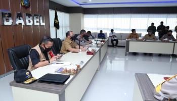 Gubernur Erzaldi Sampaikan SOP Rapid Test yang Akan Dilakukan di Pusat Keramaian
