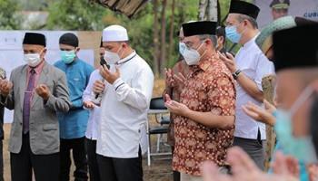 Gubernur Erzaldi Terus Dukung Pembangunan Fasilitas Keagamaan